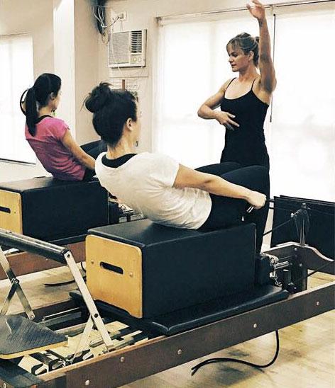 Curso Pilates em Equipamentos - Planeamento e estrutura de aulas para alunos iniciantes